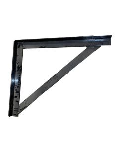 Steel Powder Coated Black Mounting Brackets For 20-2480 (tool Box)