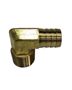 Hydraulic Hose Barb, Elbow -12 X -12 N, MH Series