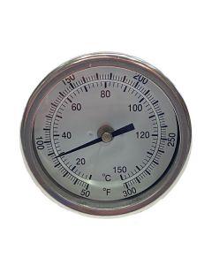 Thermometer Bi-Metal 50-500 W, 3 In. Stem
