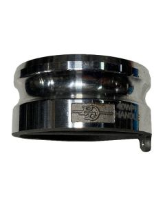 "Dust Plug, 4"" Aluminum with Pull Handle"