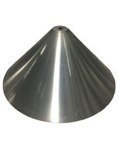 33 In. Od Weld On 45 Degree Hopper Cone