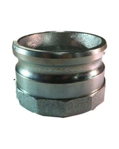 CAM AND GROOVE FITTING, 3 IN. IRON PART A