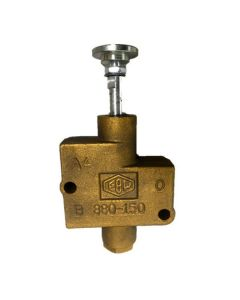Ebw 3 Port Interlock Valve With With Button