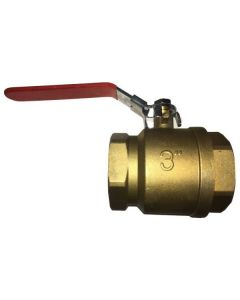 BALL VALVE 3 IN. BRASS FULL PORT