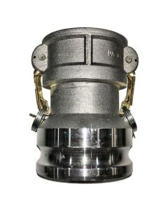 CAMLOCK FITTING 4 IN. MALE ADAPTER X 3 IN. FEMALE COUPLER