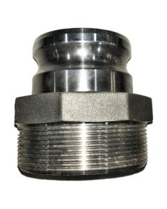 CAMLOCK FITTING 4 IN. FEMALE THREAD X 3 IN. MALE ADAPTER