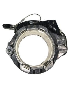 4 In.Universal Aluminum Clamp And Lanyard