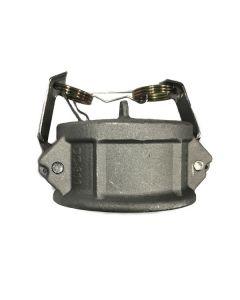 3 In. Aluminum Dust Cap, Import