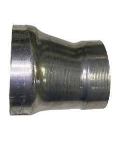 4X3 Aluminum Concentric Belled Seamless Reducer