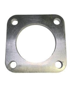 """4"""" Aluminum Square Flange"""